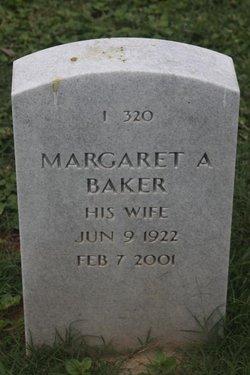 Margaret Anne <i>Sasser</i> Baker