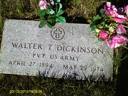 Walter T Dickinson