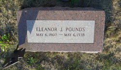 Eleanor Josephine Ella <i>Roberts</i> Pounds