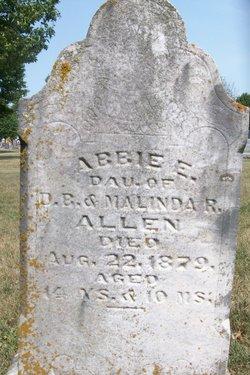 Abbie E Allen