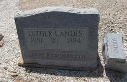 Luther Landis