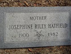 Josephine <i>Riley</i> Hatfield