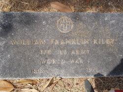 William Franklin Riley