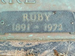 Ruby <i>Carr</i> Clarke
