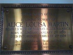 Louisa Alice Victoria <i>Martin</i> Allen