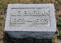 J D Bingham