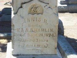 Annis R Hamlin