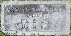 Mary Ann Mollie <i>Arnold</i> Bralley