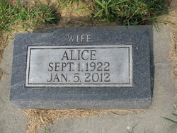 Alice Marie <i>Earith</i> Anderson