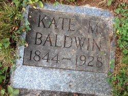 Kate Catherine M Kate <i>Hannan</i> Baldwin