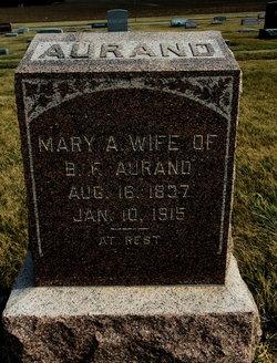 Mary Anna <i>Brubaker</i> Aurand