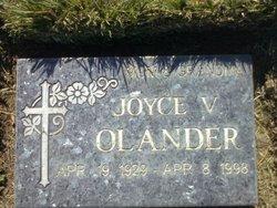 Joyce Vivian <i>Sagee (Ross)</i> Olander