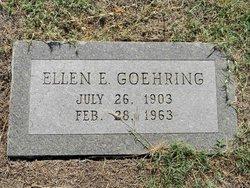 Ellen Elizabeth <i>Spangler</i> Goehring