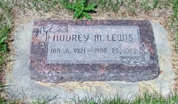 Audrey Mary Lewis