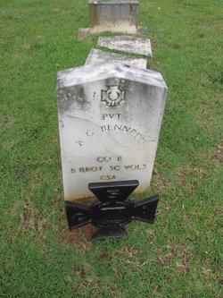Pvt R. G. Bennett