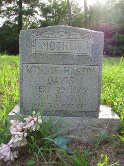 Minnie Hardy Davis