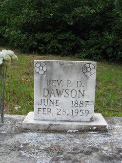 Rev P D Dawson