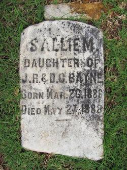 Sallie M. Bayne