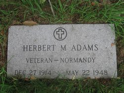 Herbert M Adams