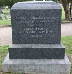 Leonard Henderson Adams