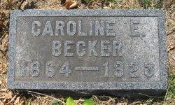 Caroline E Becker