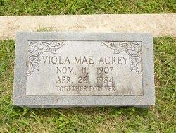 Viola Mae Acrey