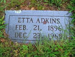 Etta <i>Warrick</i> Adkins