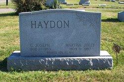 Martha <i>Jolly</i> Haydon