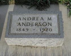 Andrea Margrete Djupen <i>Andreasdatter Pedersen</i> Pedersen Anderson