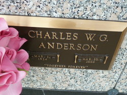 Charles W. G. Andy Anderson