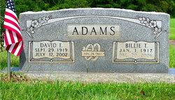 Billie T <i>Foshee</i> Adams