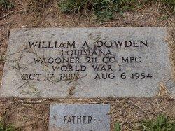 William Abraham Dowden