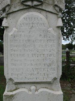 Isaiah I Anderton