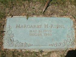 Margaret Helen <i>Riehl</i> (Brinkman) Riehl