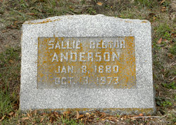 Sallie <i>Rector</i> Anderson