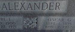 Oscar Gordon Bum Alexander