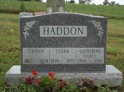 Clara Ellen <i>Crum</i> Haddon