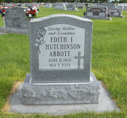 Edith Irene <i>Rodgers</i> Abbott