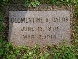 Clementine Alida <i>Phillips</i> Taylor
