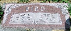Jerry N Bird