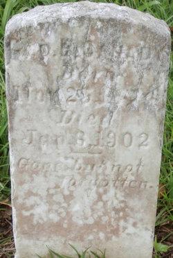 George B Canady