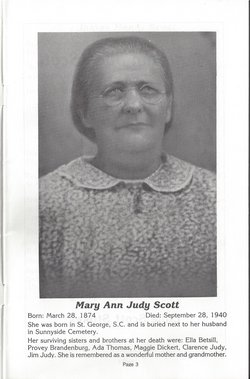 Mary Ann Scott
