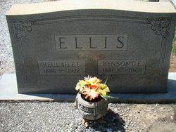 Beulah E <i>Bannister</i> Ellis