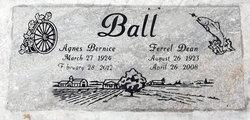 Agnes Bernice <i>Brumley</i> Ball