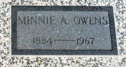 Minnie Amanda <i>Ames</i> Owens