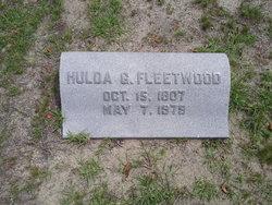Hulda C <i>Geffken</i> Fleetwood