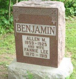 Fannie <i>Lee</i> Benjamin