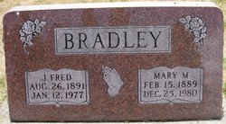 John Frederick Fred Bradley