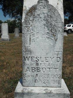 Wesley D Abbott