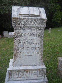 Nancy Caroline <i>Barton</i> Daniel